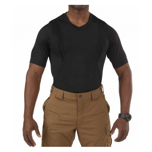 Tričko 5.11 Tactical V-Neck Concealed Carry Holster