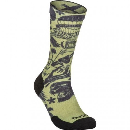 Ponožky Sock & Awe Crew Tropic