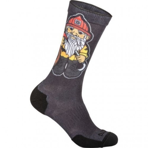Ponožky Sock & Awe Crew Fire Gnome