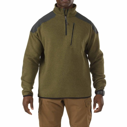 Bunda TACTICAL quarter-zip