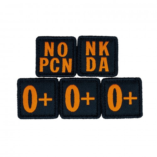 Nášivka Blood Type Patch...