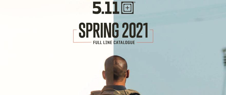 Najnovší Katalóg 5.11 Tactical Spring 2021